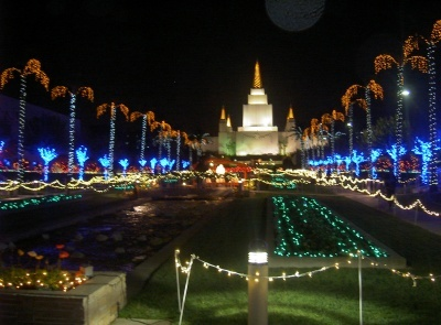 Take Time To Visit the Oakland Mormon Temple's