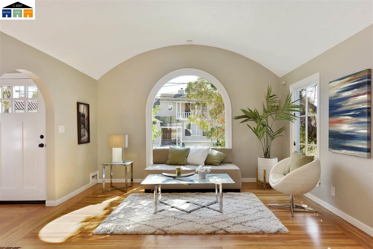 This Theme Is Carried Through From The Arched Entryway Into Home To Other Rooms Off Living Room